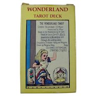 Vintage Alice In Wonderland Tarot Deck (Rare)
