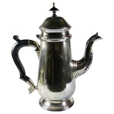 Leonard Silver-Plated Teapot with Black Bakelite Handle
