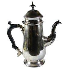 Vintage Leonard Silver-Plated Teapot with Bakelite Handle
