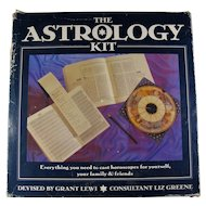 Vintage Astrology Kit With Books, Charts, & Star Wheel