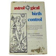 Vintage Astrological Birth Control Book (1972)