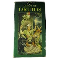 Vintage Tarot of the Druids Card Deck