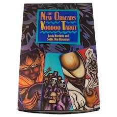 New Orleans Voodoo Tarot Boxed Set With Deck & Book