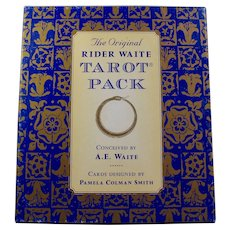 Original Rider Waite Tarot Pack With Card Deck & Book