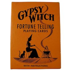 Vintage Gypsy Witch Fortune Telling Cards