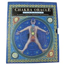 Chakra Oracle Box Set - Book & Cards For Meditation and Divination