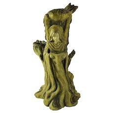 Angelic Dryad Tree Spirit Candle Holder