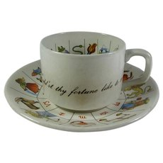 Taltos Fortune Telling Tea Cup & Saucer Set