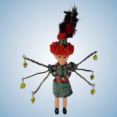"""""""Thrift Shop Kali"""" Handmade Art Doll OOAK"""