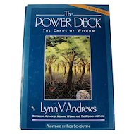 """The Power Deck: Cards of Wisdom"" by Lynn V. Andrews Slipcased Set"