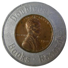 1949 Lucky Wheat Penny From Doubleday Books