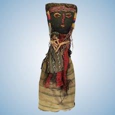 Large Chancay Peruvian Burial Doll