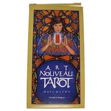Rare 1989 Art Nouveau Tarot Deck by Matt Myers