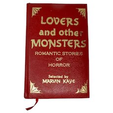 """Lovers & Other Monsters"" Deluxe Leatherbound Anthology of Romantic Horror"