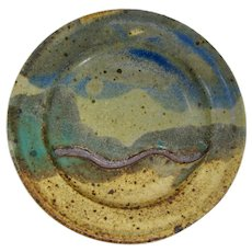 Mississippi River Pictograph Dish From Madison, New York