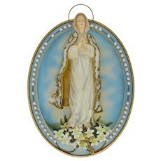 Our Lady of Hope Bradford Exchange Numbered Plaque