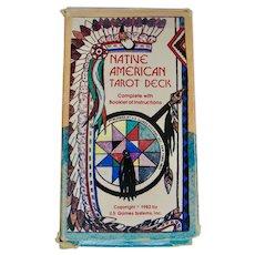 1982 Native American Tarot Cards