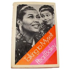 "Pearl Bailey ""Talking To Myself"" Signed First Edition Book"
