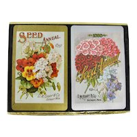 30% OFF! Congress Playing Cards 2 Decks In Seed Packet Slipcase