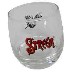 Strega Liqueur Round-Bottomed Sipping Glass