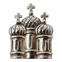 Mignon Faget Mardi Gras Krewe Favor Cathedral Brooch