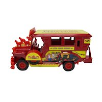 Philippines Die Cast Model Jeepney Bus