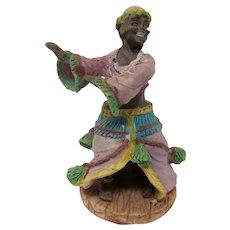 Handmade Stoneware Voodoo Dancer Figurine