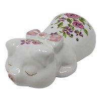 1978 Ceramarte Ceramic Pig Powder Shaker By Avon