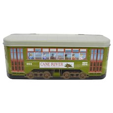 New Orleans Streetcar Decorative Praline Tin