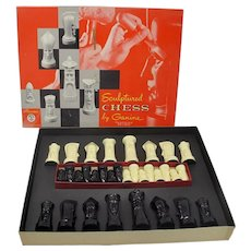Ganine Sculptured Gothic Chess Set (Salon Edition)