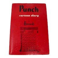 "1978 ""Punch Cartoon Diary At Harrods"" British HC Date Book"