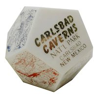 Carlsbad Caverns Souvenir Shaker With Cave Scenes
