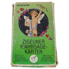 1986 Piatnik Gipsy Fortune Telling Cards