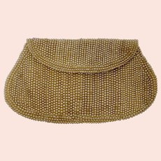 1940s Miranda Faux Pearl Evening Bag