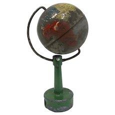Antique German Globe of the World Pencil Sharpener