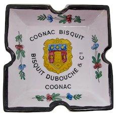 Faiencerie d'Art d'Angoulême French Cognac Bisquit Ashtray