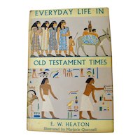 Everyday Life In Old Testament Times Book (1956)