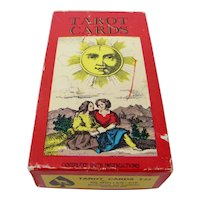 1970 Swiss 1JJ Tarot Cards With One-of-a-Kind Handmade Strength Card