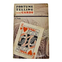 1964 Fortune Telling With Cards Book