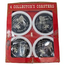 1969 New Orleans Collector's Drink Coaster Set