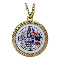 1983 Mardi Gras Krewe of Choctaw Necklace