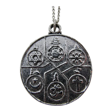 All Faiths Religious Amulet Necklace