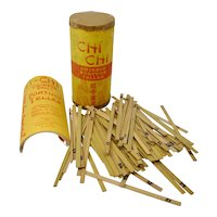 1915 Chi Chi Chinese Fortune Teller Sticks