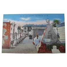 New Orleans St. Louis #1 Cemetery Postcard (Unused)