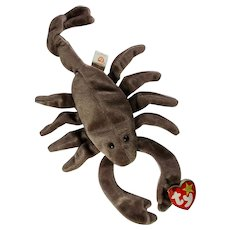 Stinger The Scorpion Beanie Baby With Swing Tag