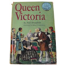 Queen Victoria Biography by Noel Streatfeild (1958)