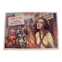 1954 Joan of Arc Topps Trading Card