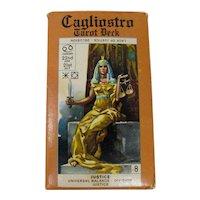 Rare 1981 Cagliostro Tarot Cards