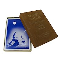 1940s Gypsy Witch Fortune Telling Cards