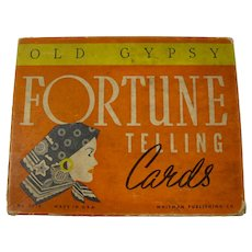 1937 Old Gypsy Fortune Telling Cards